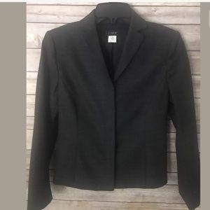 J Crew Career Charcoal Gray Blazer Jacket 4
